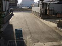 北福崎地内下水道工事施工前